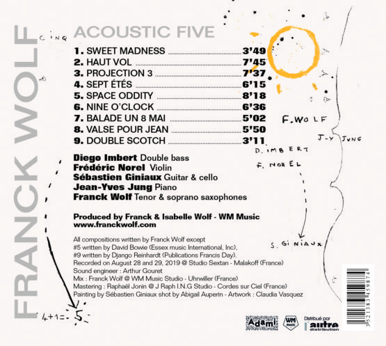 Acoustic Five Back